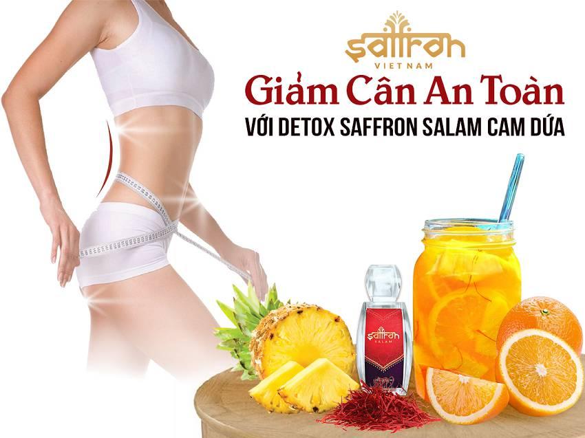 công dụng của saffron - saffron hỗ trợ giảm cân