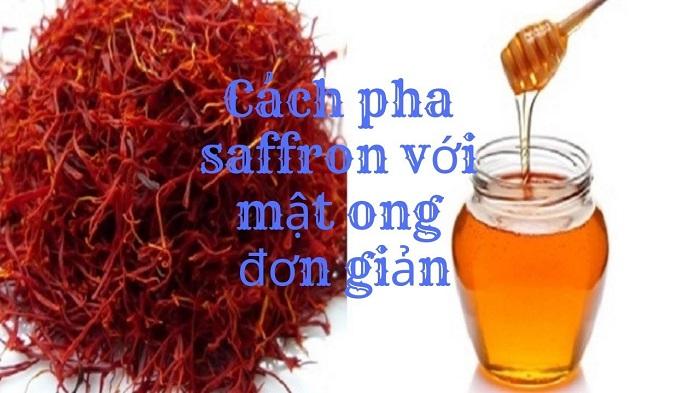 saffron mật ong