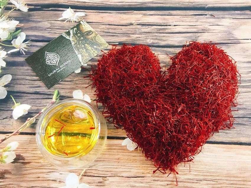 saffron tốt cho tim mạch