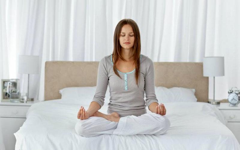 Tập các bài thể dục nhẹ trước khi ngủ