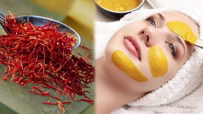 Cách làm mặt nạ saffron chống lão hóa