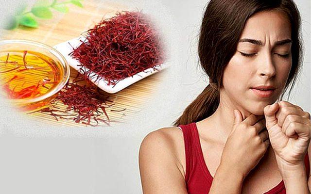 Hướng dẫn sử dụng tỏi, Saffron giúp giảm đau họng hiệu quả nhất