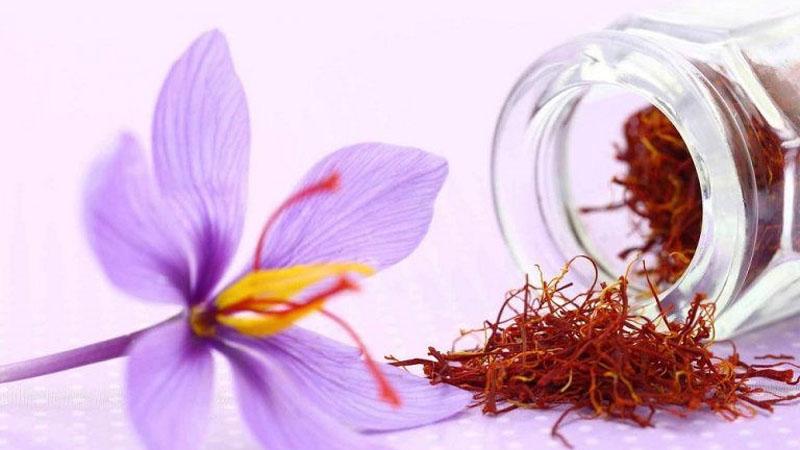 Saffron trị mụn nội tiết tố