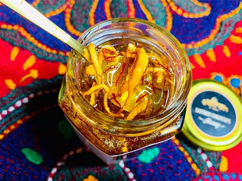 Cách dùng mật ong, đông trùng hạ thảo với Saffron tăng cường hệ hô hấp hiệu quả mà đơn giản