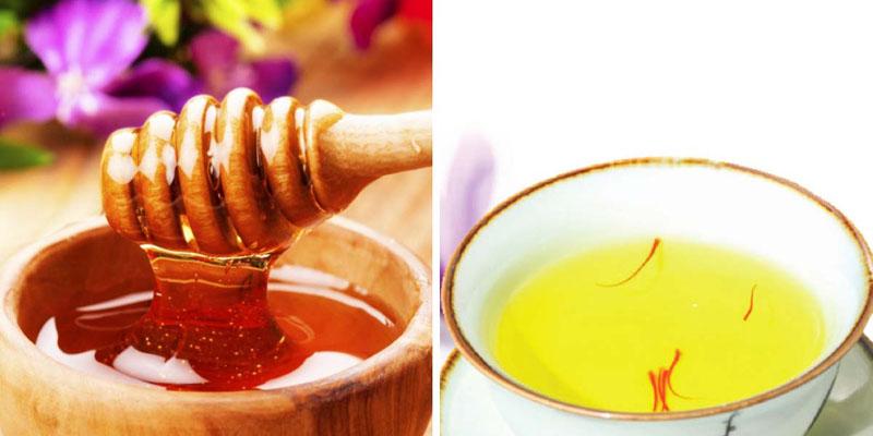 Sử dụng mật ong, Saffron tăng cường hệ hô hấp
