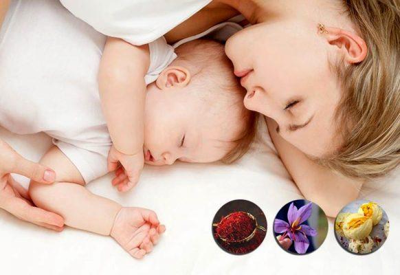Saffron lợi sữa giúp cho phụ nữ sau sinh như thế nào?