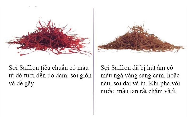 Bảo quản saffron đúng cách để làm gì?