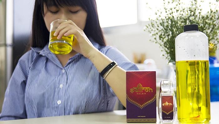 Uống trà nhụy hoa nghệ tây vào lúc nào sẽ tốt nhất?